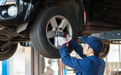 Audi Wheel Bearing Repair