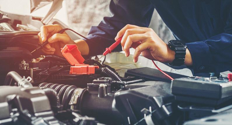 Porsche Battery Check