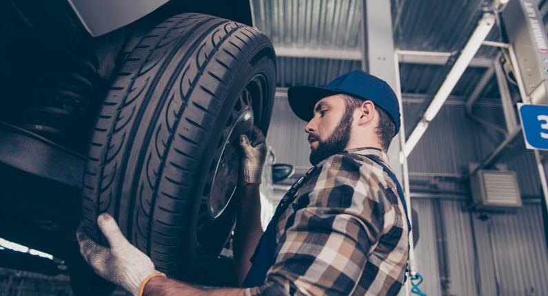 Volvo Tire Change