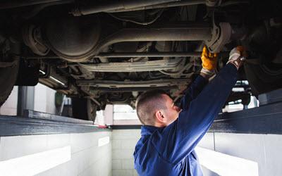 Volvo Suspension System Inspection