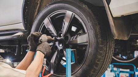 BMW Tire Change