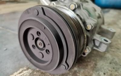 Volvo HVAC Compressor Check